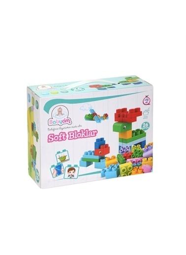 Birlik Oyuncak Birlik Oyuncak 66611 Babycim Soft Bloklar 26 Parça Çocuk Lego Oyuncak Renkli
